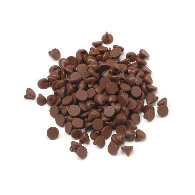Wilbur B558 Semi Sweet Chocolate Cookie Drops 4000ct 50lb