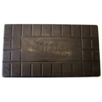 Merckens Bourdeaux Bittersweet Chocolate Coating 50lb
