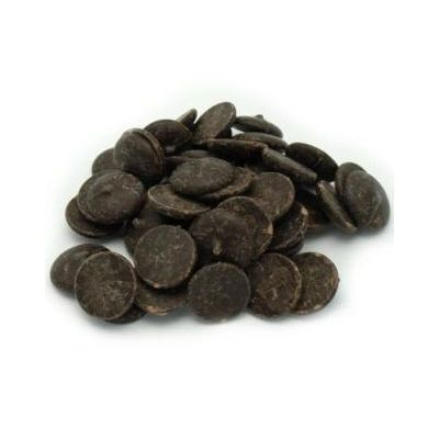Merckens Yucatan Dark Chocolate Buttons 50lb