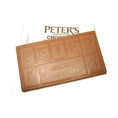 (NOT AVAILABLE BY MANUFACTURER)  Peters Ultra Milk Chocolate 125 Viscosity 50lb