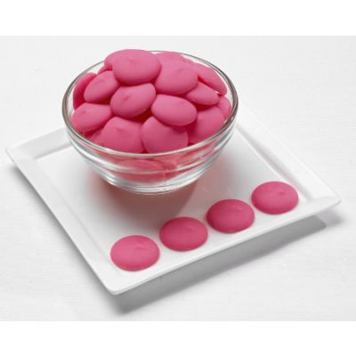 (NOT AVAILABLE BY MANUFACTURER)  Merckens Pink Melting Wafers 25lb